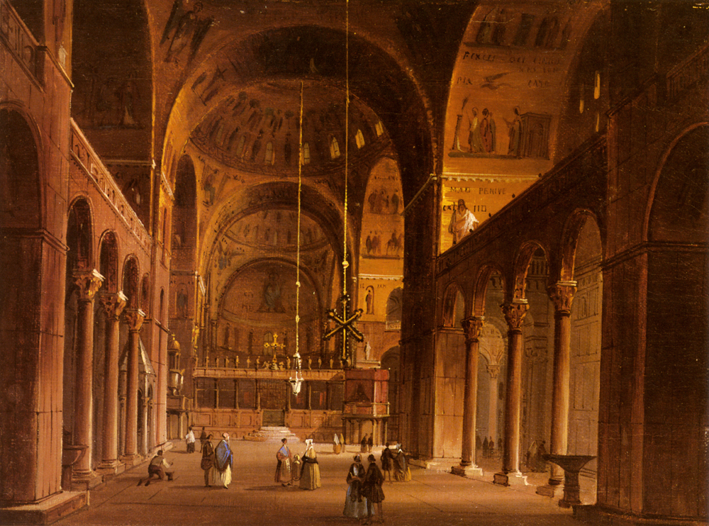 Piazza San Marco | Carlo Grubacs | Oil Painting