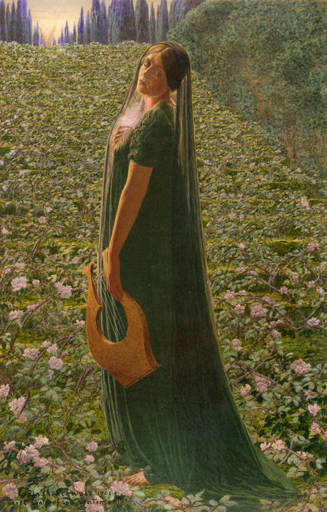 Elysian Fields | Carlos Schwabe | Oil Painting