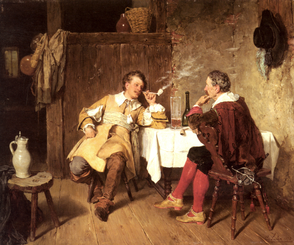 The Cosy Chat | Carl Seiler | Oil Painting