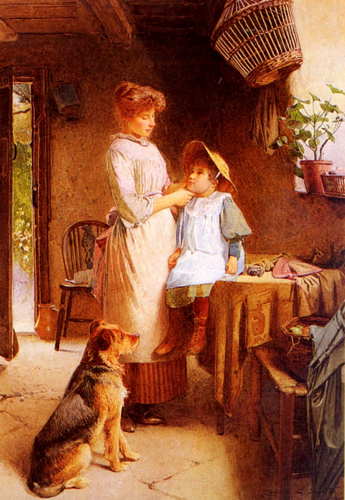 Getting Ready | Carlton Alfred Smith | Oil Painting