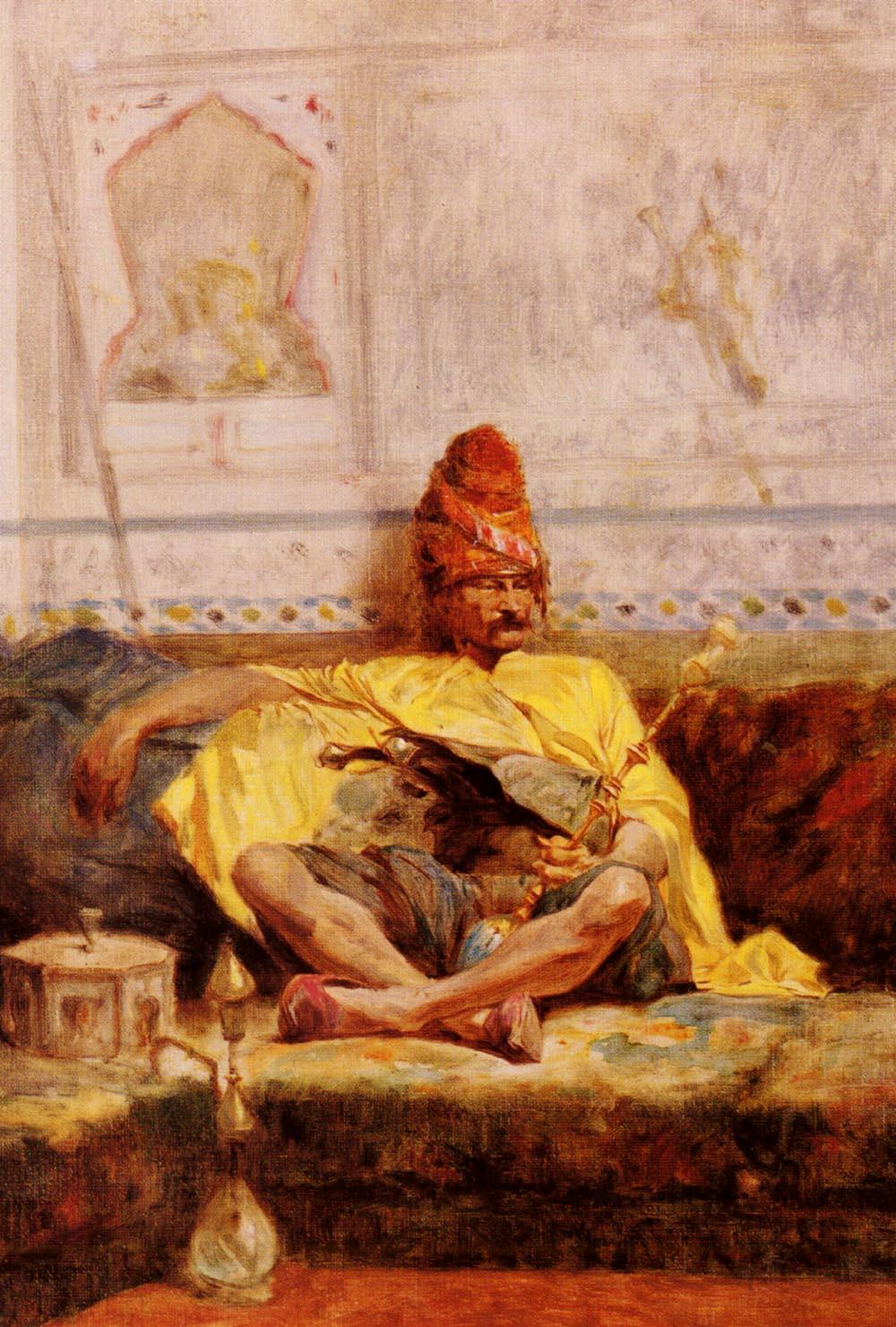 Bashi-Bazouk Assis | Charles Bargue | Oil Painting