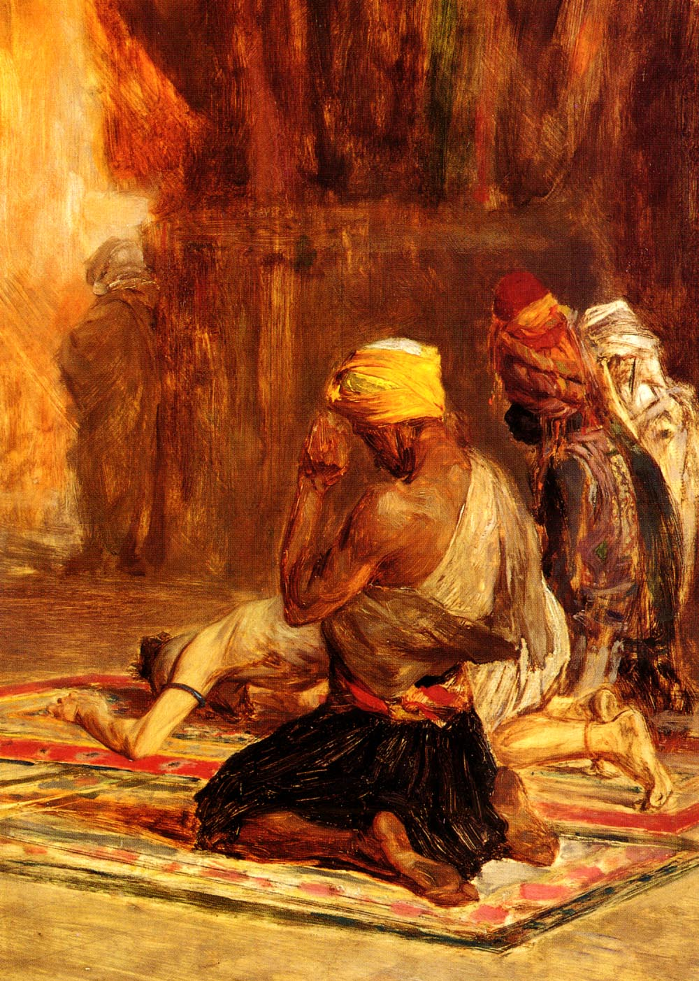 Priere Dans La Mosquee | Charles Bargue | Oil Painting