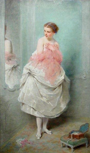Avant le Bal | Charles Chaplin | Oil Painting
