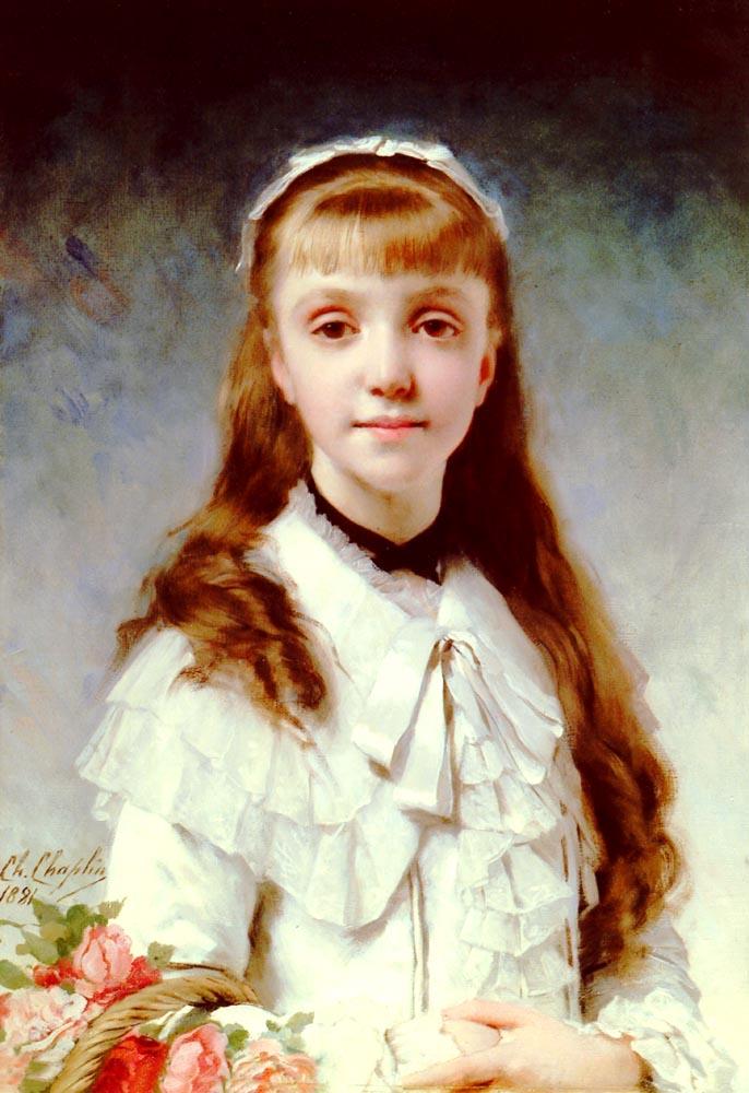 Sweet Innocence | Charles Chaplin | Oil Painting
