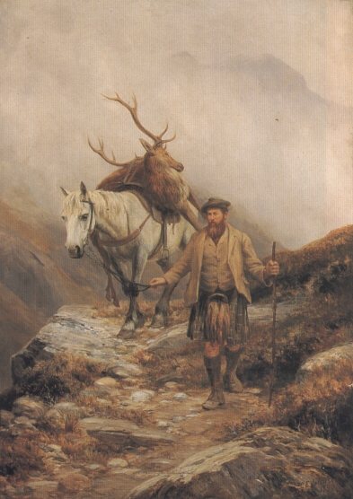Deer Stalking | Charles Edward Johnson | Oil Painting