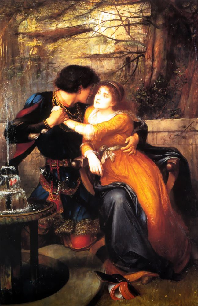 Paolo and Francesca | Charles E Halle | Oil Painting