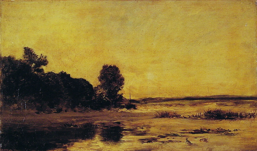 By The Sea | Charles Francois Daubigny | Oil Painting