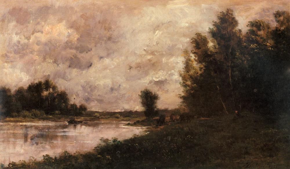 Daubigny Charles Francois Bords De L Oise | Charles Francois Daubigny | Oil Painting