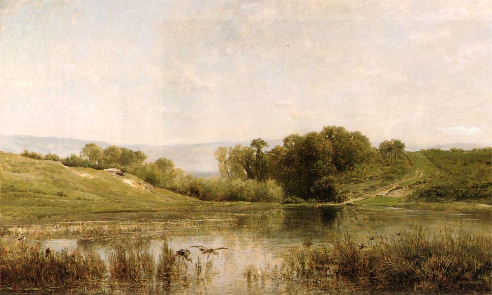 Letang De Gijlieu | Charles Francois Daubigny | Oil Painting