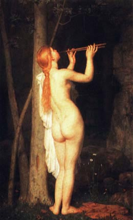 Bacchante | Charles Gleyre | Oil Painting