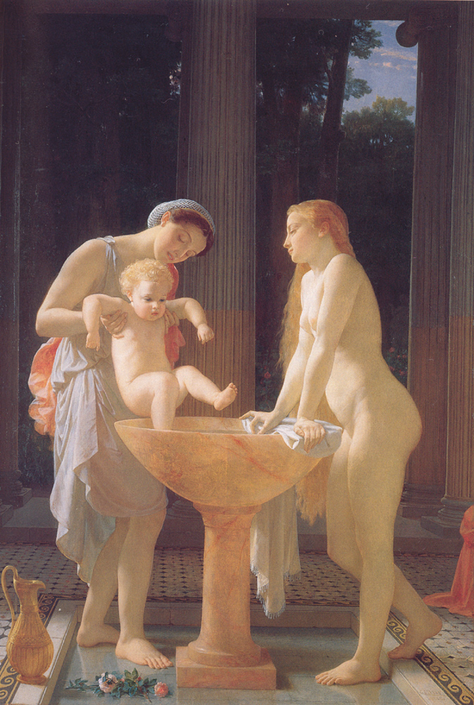 The Bath | Charles Gleyre | Oil Painting