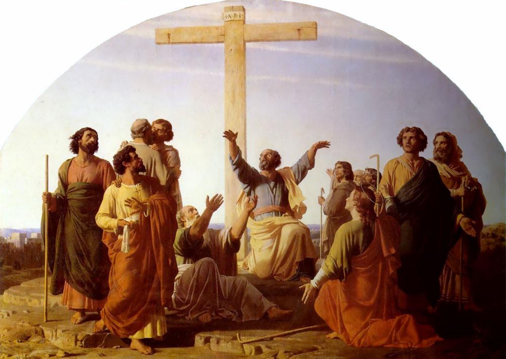 Le Depart des Apotres Allant Precher LEvangile | Charles Gleyre | Oil Painting