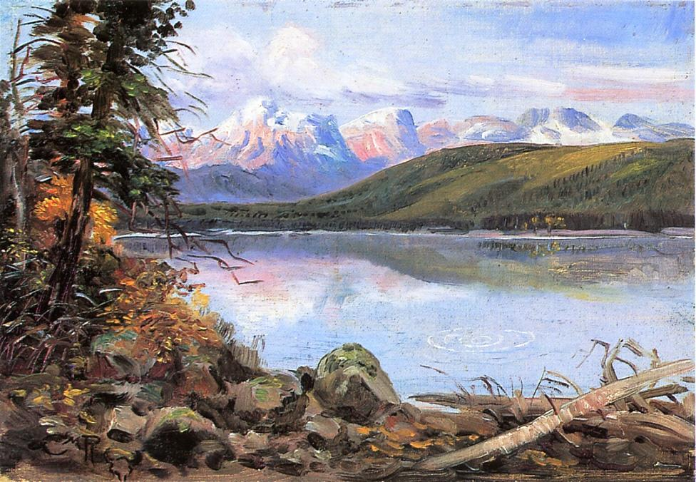 Lake McDonald 1901 | Charles Marion Russell | Oil Painting