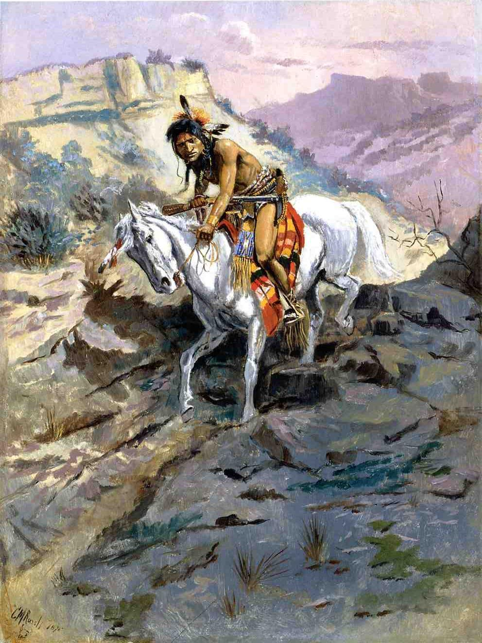 The Alert 1895 | Charles Marion Russell | Oil Painting