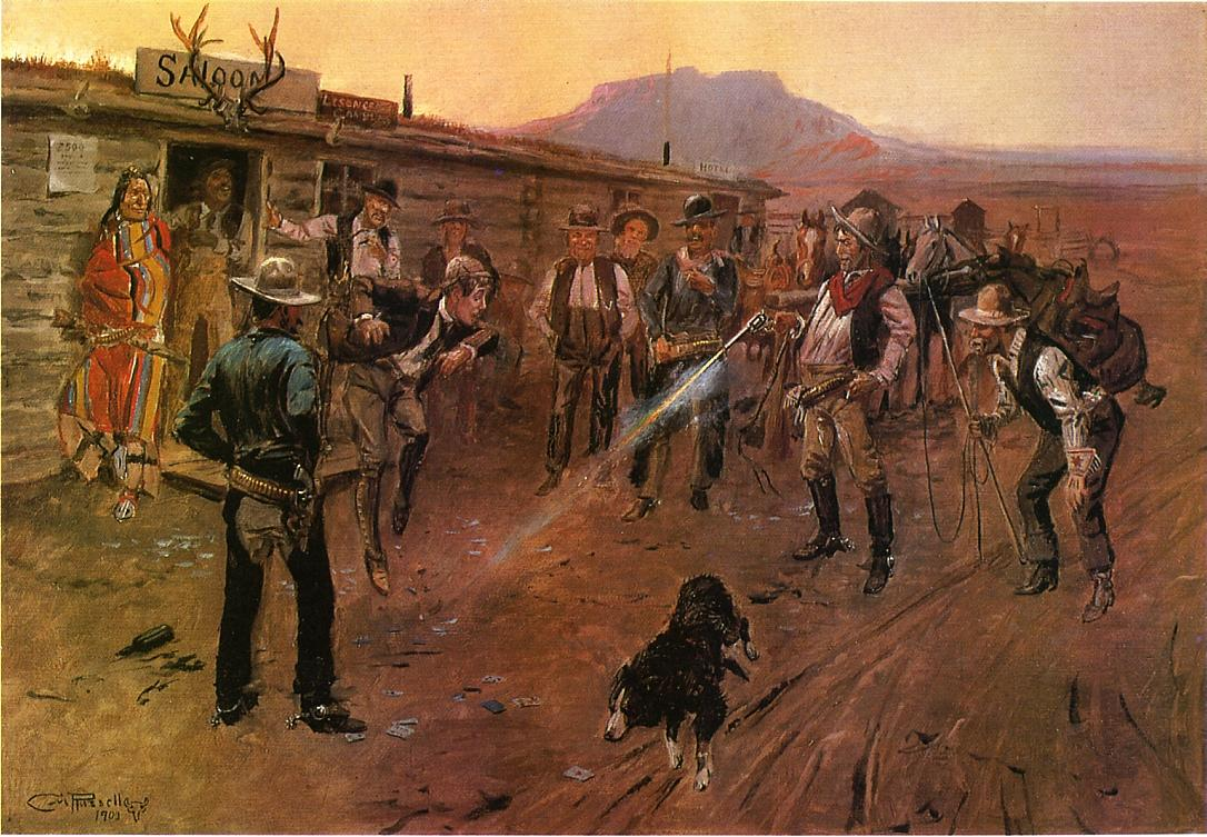 The Tenderfoot 1900 | Charles Marion Russell | Oil Painting