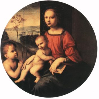 Virgin and Child with the Infant St. John the Baptist Guiliano Bugiardini