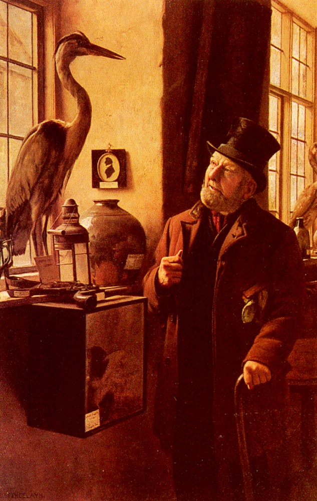 Our Local Museum | Charles Spencelayh | Oil Painting