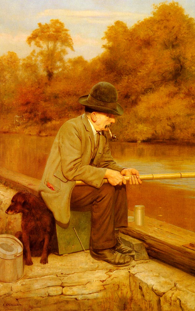Patience | Charles Spencelayh | Oil Painting