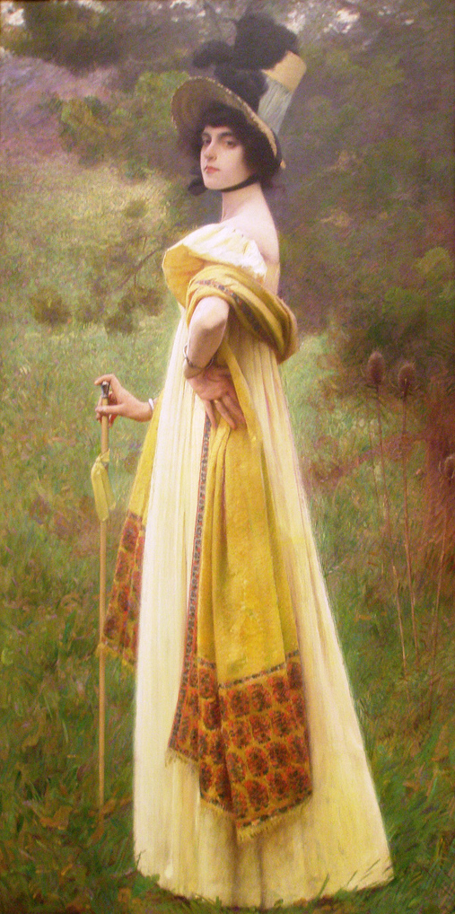 The Shawl | Charles Sprague Pearce | Oil Painting
