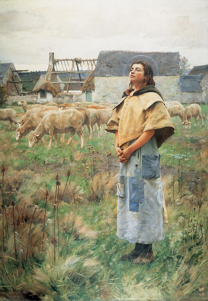 Sainte Genevieve | Charles Sprague Pearce | Oil Painting