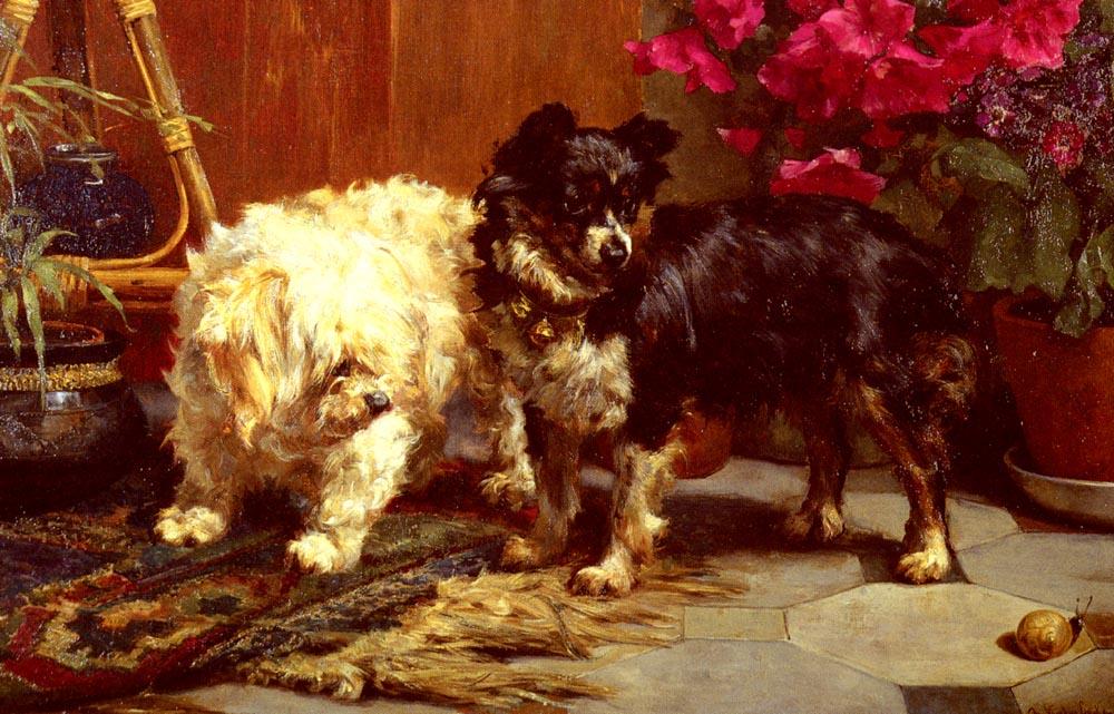 Surprise | Charles Van Den Eycken | Oil Painting