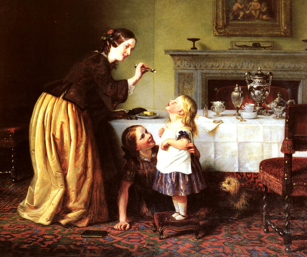 Breakfast Time | Charles West Cope | Oil Painting