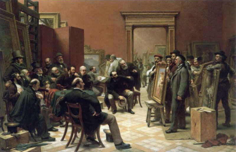 The Council of the Royal Academy Selecting Pictures for Exhibit | Charles West Cope | Oil Painting