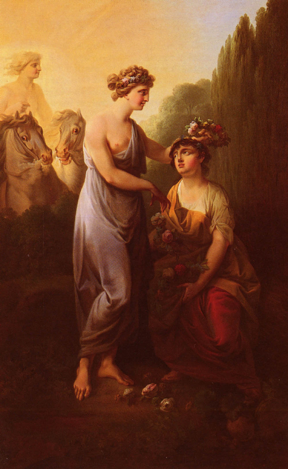 Flora And Ceres | Christian August Lorentzen | Oil Painting