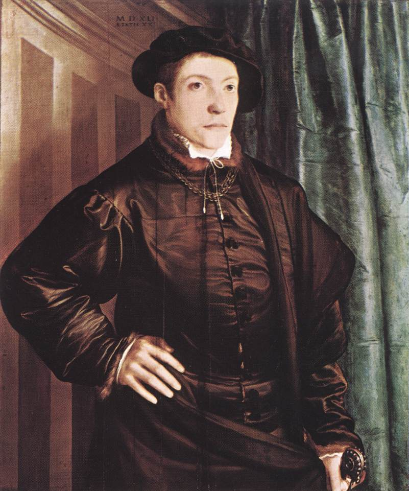Christoph Amberger Painting 1541 | Christoph Amberger | Oil Painting
