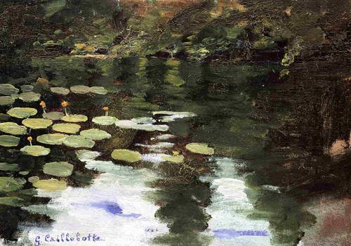 Yerres, on the Pond, Water Lilies 1871-1878