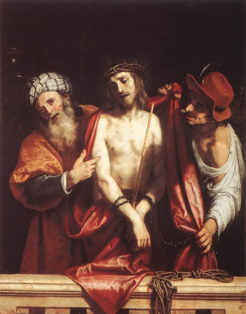 Ecce Homo 1607   Cigoli   Oil Painting