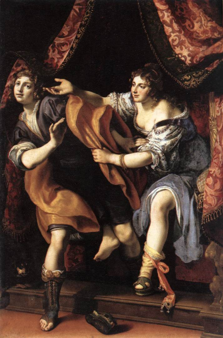 Joseph And Potiphars Wife 1610 | Cigoli | Oil Painting
