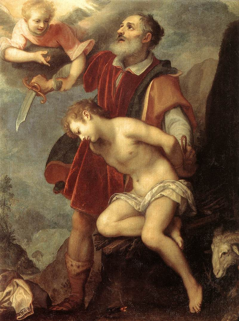 The Sacrifice Of Isaac C 1607 | Cigoli | Oil Painting