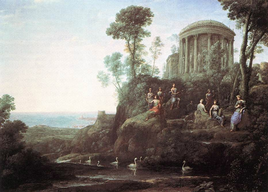 Apollo and the Muses on Mount Helion Parnassus | Claude Lorrain | Oil Painting