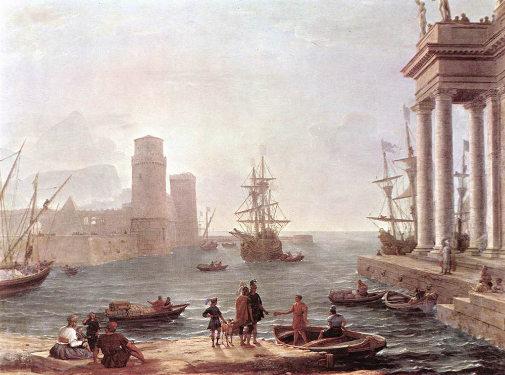 Departure of Ulysses from the Land of the Feaci | Claude Lorrain | Oil Painting
