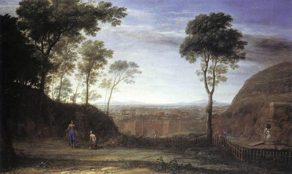 Landscape with Noli Me Tangere Scene | Claude Lorrain | Oil Painting