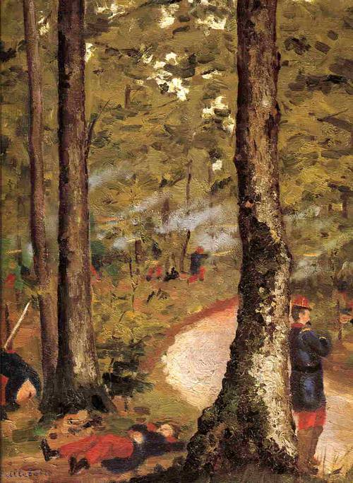 Yerres, Soldiers in the Woods 1871-1878