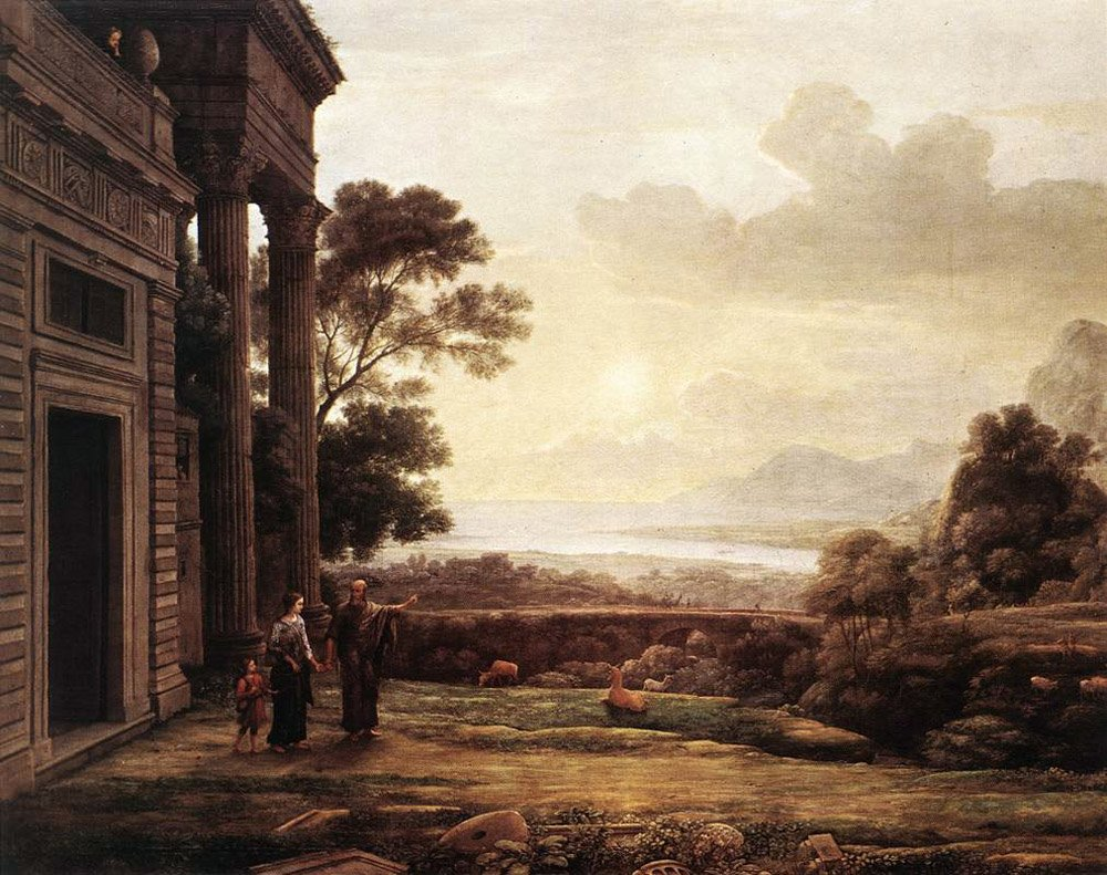 The Expulsion of Hagar | Claude Lorrain | Oil Painting