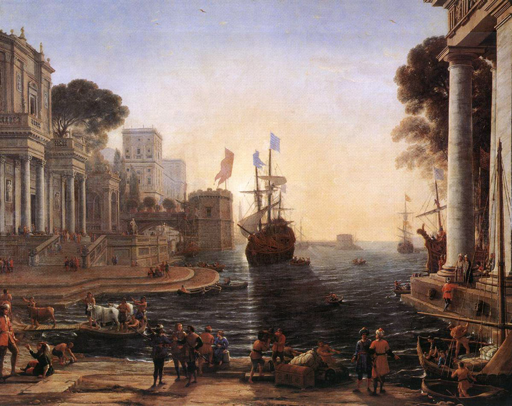 Ulysses Returns Chryseis to her Father | Claude Lorrain | Oil Painting