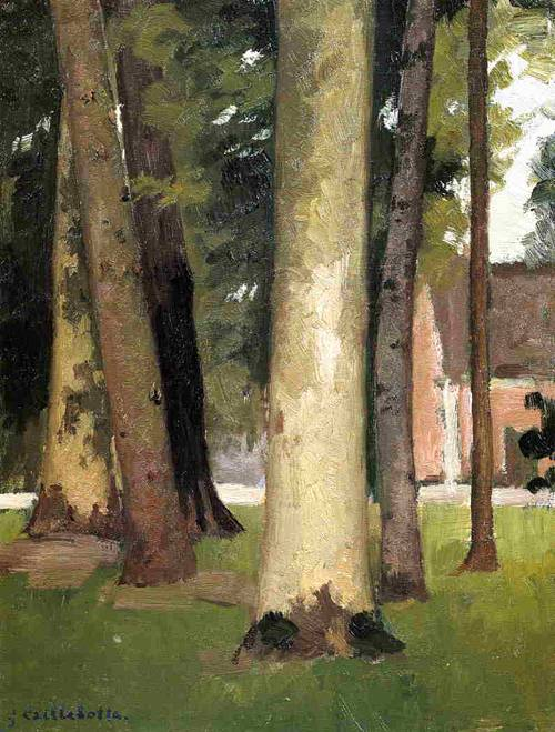 Yerres, Through the Grove, the Ornamental Farm 1871-1878