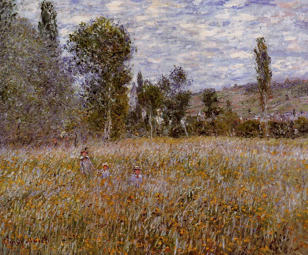 A Meadow 1879 | Claude Monet | Oil Painting