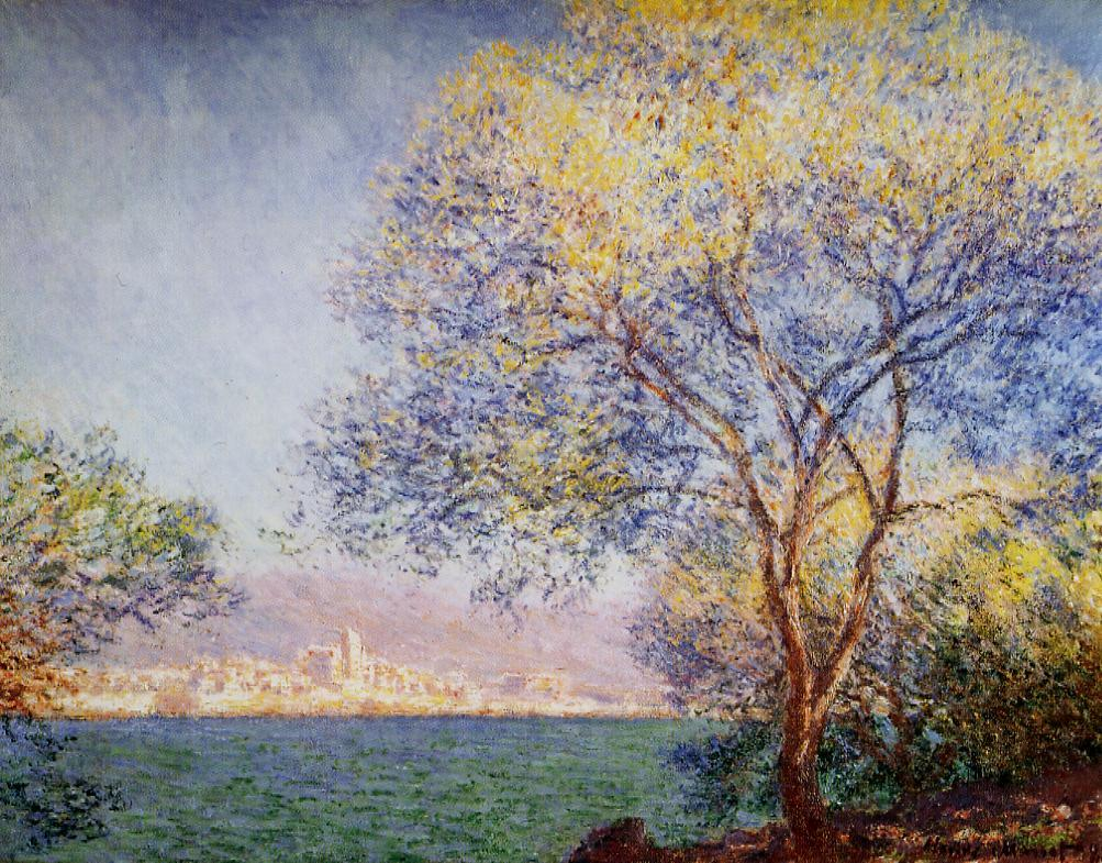 Antibes in the Morning 1888 | Claude Monet | Oil Painting