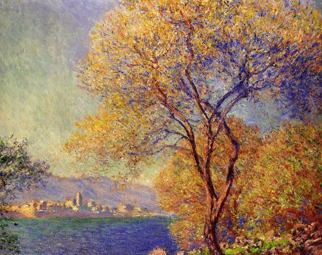 Antibes Seen from the Salis Gardens2 1888 | Claude Monet | Oil Painting