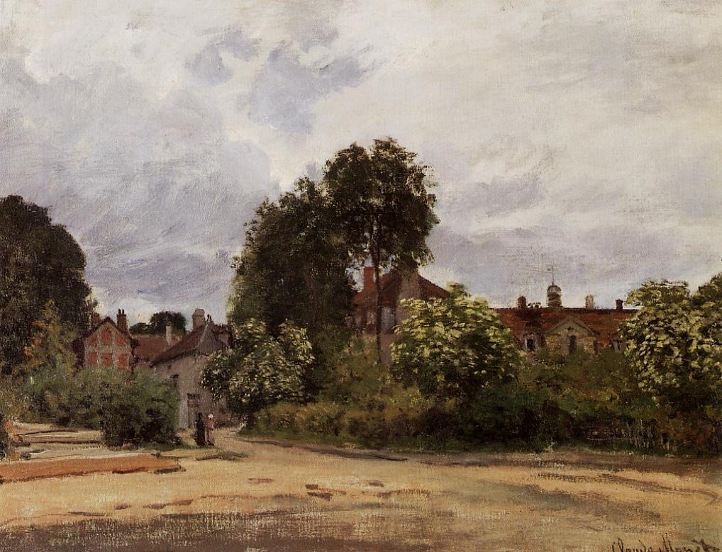 Argenteuil the Hospice 1872 | Claude Monet | Oil Painting