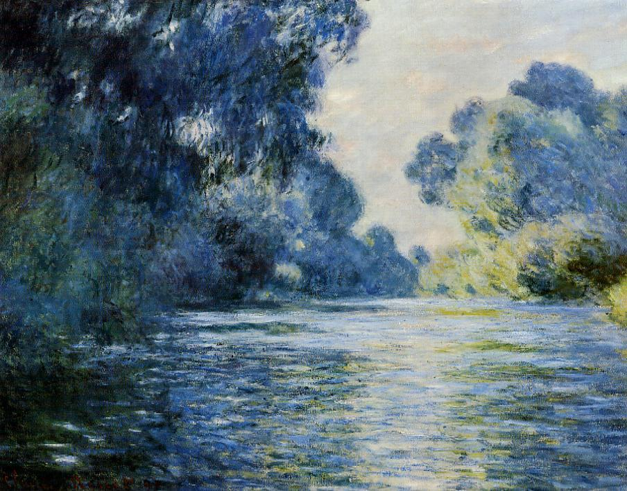 Arm of the Seine at Giverny 1897 | Claude Monet | Oil Painting