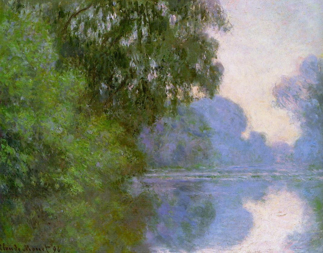 Arm of the Seine near Giverny 1896 | Claude Monet | Oil Painting