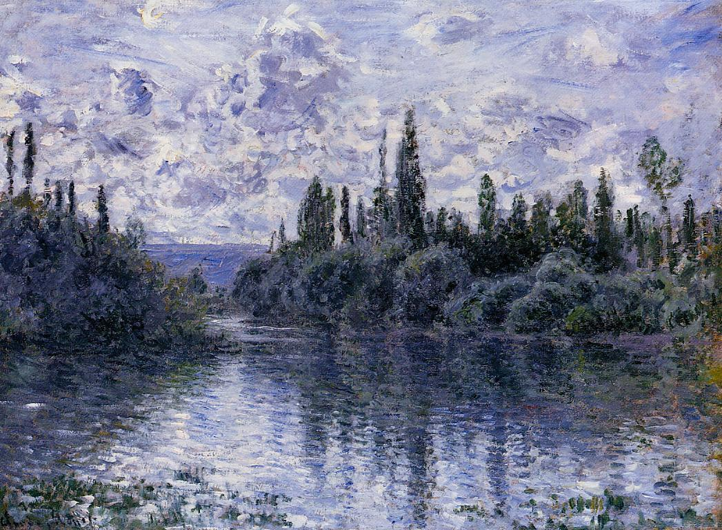 Arm of the Seine near Vetheuil 1878 | Claude Monet | Oil Painting