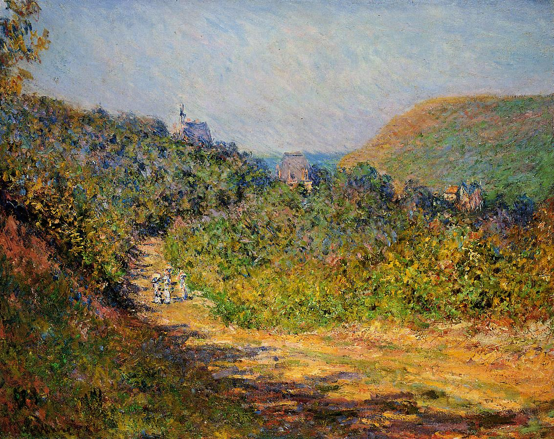At Les Petit-Dalles 1884 | Claude Monet | Oil Painting