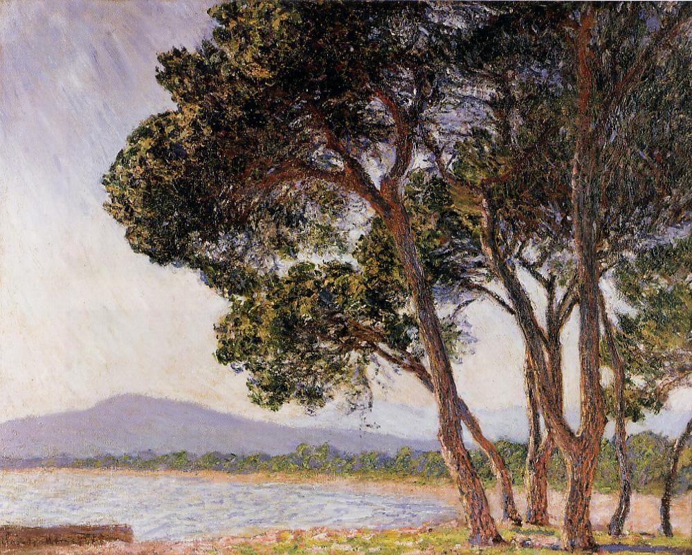 Beach in Juan-les-Pins 1888 | Claude Monet | Oil Painting