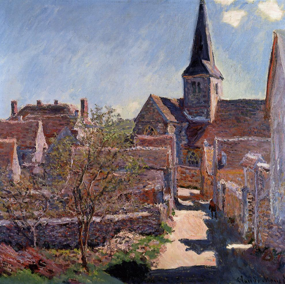 Bennecourt 1885 | Claude Monet | Oil Painting